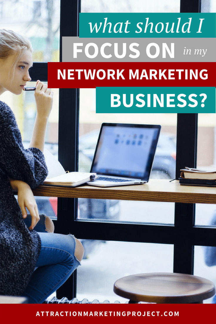 Do you have shiny object syndrome in your MLM business or feel completely scattered when it comes to building your direct sales biz? Check out these great tips on how to refocus in your network marketing business.